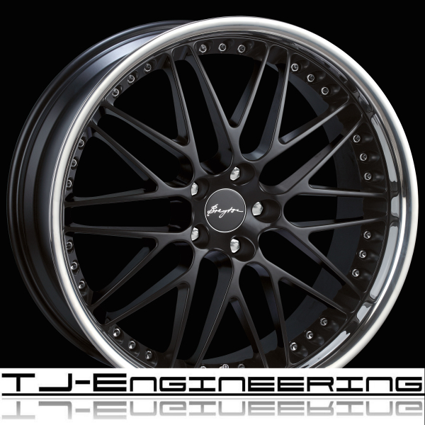 Breyton Wheels Spirit II Mehrteiler-Look Matt Black